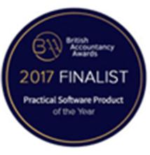 2017 BAA Finalist in Practical Software Product logo