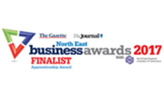 North East Business Awards 2017 Finalist for Apprenticeship Award logo
