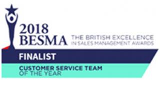 2018 BESMA Finalist for Customer Service Team logo