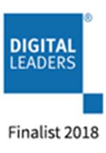 Digital Leaders Finalist 2018 logo